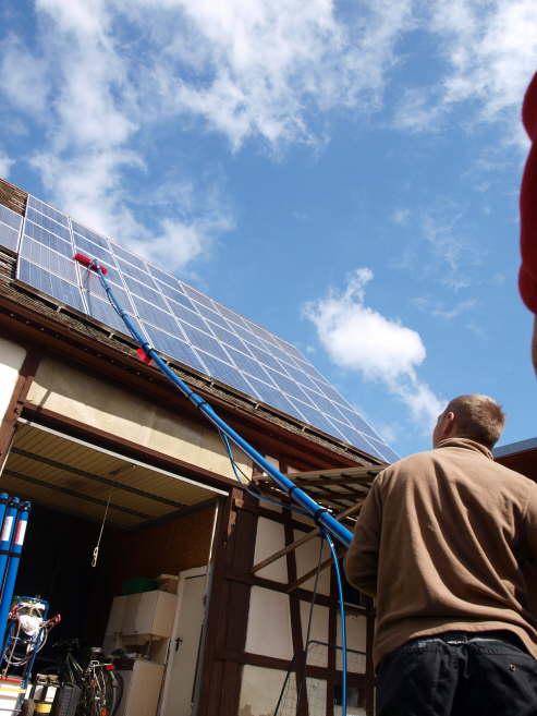 Solarreinigung mit Reinigunssets von Solarreinigung Franken