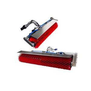 mit rotierenden Bürsten die Photovoltaikanlage schnell und effektiv reinigen